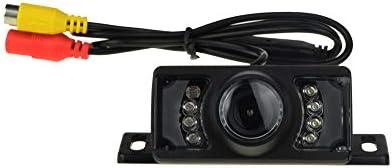 Cámara de Aparcamiento Trasera para Coche 1080p cámara de Seguridad para Doble DIN Car Stereos fácil instalación 7 LED Infrarrojos visión Nocturna IR ...