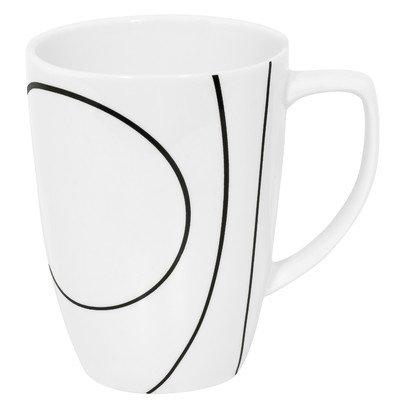 Simple Lines 12 oz. Mug [Set of 4] (Coffee Cup Corelle)