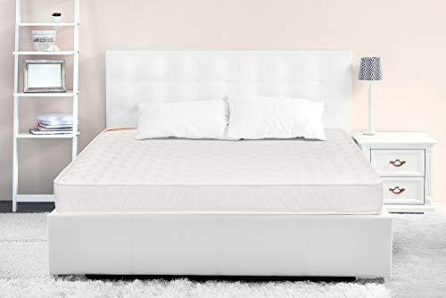 Springwel Primabond 6 inch Queen Size Rebonded Foam Mattress  White, 78x60x6