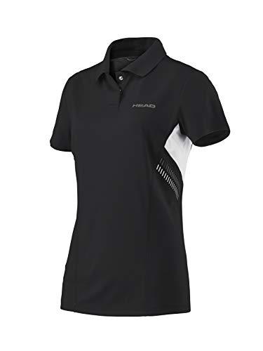 Polo Tipo Técnica Mujer Camiseta Para Negro Head waStqq