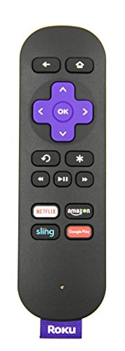 Roku Streaming Stick Remote HDMI Version for Roku Streaming Stick (HDMI Version) (3500r, 3500rw), Roku 3 (4200r), Roku 2 (2720r, 2720rw)