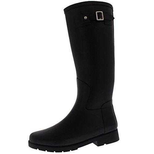 Black Rain Boots - 2