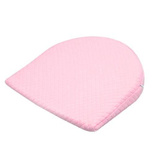 Huhudde Babycare Newborn Baby Sleep Pillow Anti Baby Spit Milk Crib Cot Sleep Positioning Wedge Pillow Memory Foam Infant Nursing Pillow