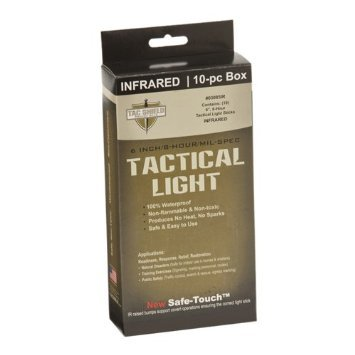 Tac Shield Tactical 8 Hour Light Stick (10-Pack)