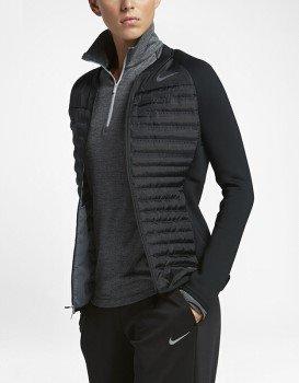 ナイキ ゴルフ ウィメンズ エアロロフト コンボ ジャケット 黒 NIKE GOLF ゴルフジャケット ジャケット AEROLOFT 女性用 ダウン   B078X8NRB7