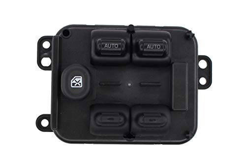 NewYall Front Left LH Driver Side Center Console Master Power Door Window Switch 5 Button