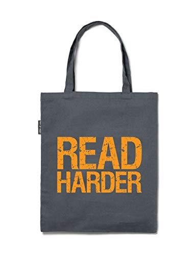 Out of Print Book Riot Read Harder Tote Bag