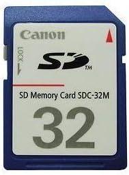 Amazon.com: Canon SDC-32M Secure Digital Memory Card SD for ...