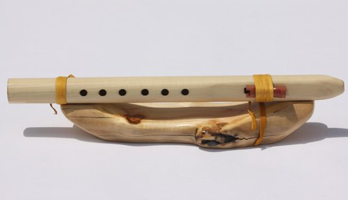 Key of E 6-hole Poplar Native American Style Flute By Windpony