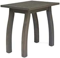 Christopher Knight Home 306099 Sadie Outdoor Acacia Wood Accent Table