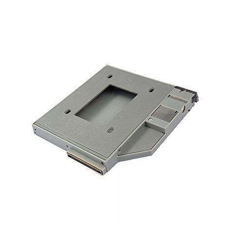 Laptop Hard Drive Caddy for Dell Latitude D610 D620 D630 D800 D810 D820 D830 - SATA 2nd Hard Drive HDD Caddy Adapter by BrainyTrade