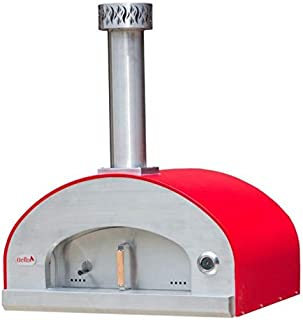 product image for Forno Bravo Grande36 Countertop Portable Wood Fired Pizza Oven-Red