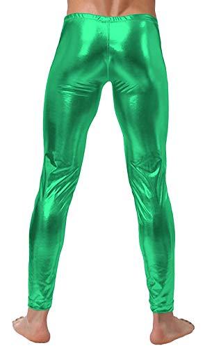 Mode Vintage Automne Leggings Couleur Hommes Grün Pantalons Taille Casual Slim Élastique Long Pour Unie Printemps Grande qwnT7HURT