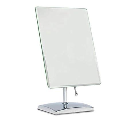 Espejo de maquillaje de mesa de baño Espejo cosmético portátil de ...