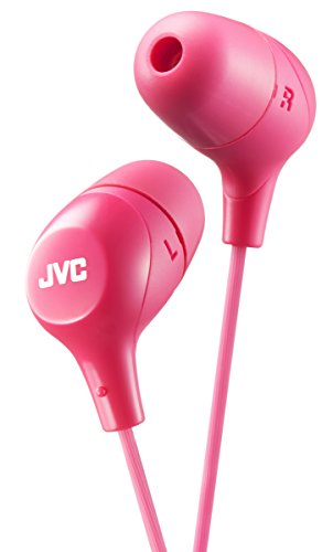 JVC HAFX38P Pink Marshmallow HEADPHONES Original/New Brand