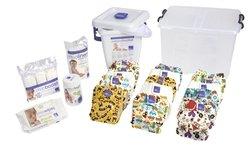 Bambino Mio All-in-One Cloth Diaper Premium Pack, Boy