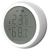 Gesh Zigbee 3.0 Temperature Sensor Tuya and Smart Life App Control Temperature and Humidity Sensor