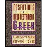 Essentials of New Testament Greek, Cox, Steven L., 0805410961