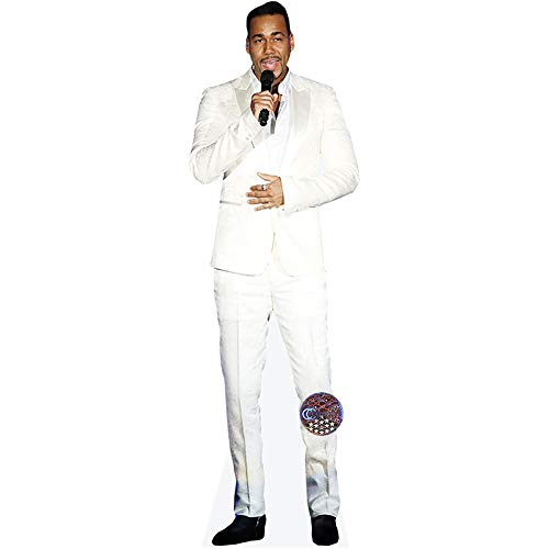 Romeo Santos (Singing) Mini Cutout]()