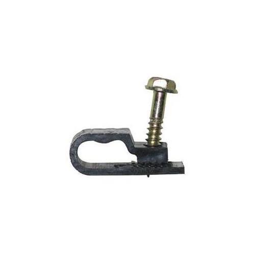 Steren 200-964BK Grip Clip Dual Cable Clips Black (Steren 200-964BK)
