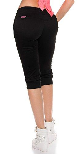 Pantalon Legging Jogging Noir Sport Fitness Dance Koucla