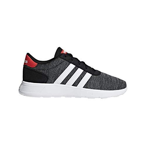 adidas Lite Racer K Black/White/Red Running Shoes 5