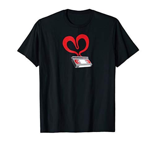 Price comparison product image I Heart VHS - Retro 80s 90s Movie Love T-Shirt