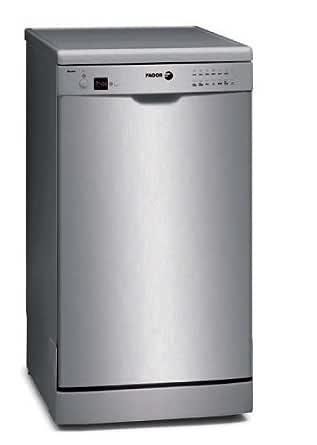 Fagor 2LF-458X - Lavavajillas (A +, 0.8 kWh, 10 L, 450 mm ...