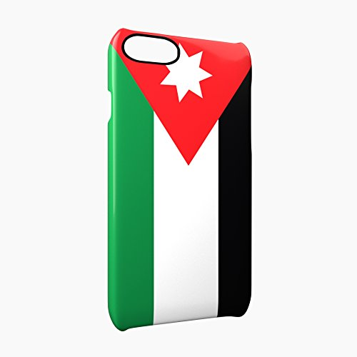 Flag of Jordan Glossy Hard Snap-On Protective iPhone 7 Plus + Case Cover