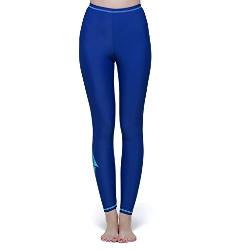Dusishidan Women Swim Tight Leggings, Swimming Pants