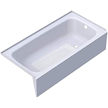 Cayono 60 Quot X 30 Quot Soaking Bathtub Drain Location Left