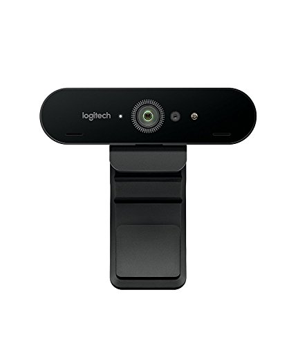 Logitech BRIO - Ultra HD Webcam for Video Conferencing, Recording, and Streaming (Best Hd Camera For Skype)