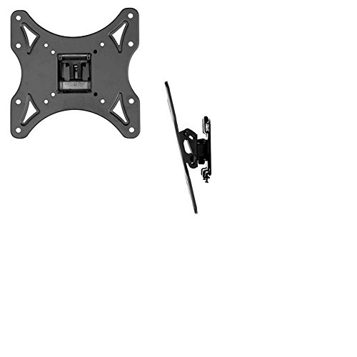 Tilt and Swivel Wall Mount For 10-45in TVs and Computer Monitors
