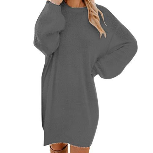 Modern Family Halloween Cheerleader (MEANIT Women's Casual Dresses Winter Sweater Dress Mini Dress Knit Dress)