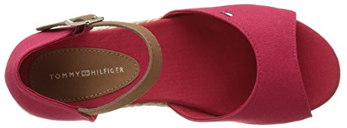 Tommy Hilfiger K3285ristin 5c1 - Tacones Niñas Rojo (Tango Red)