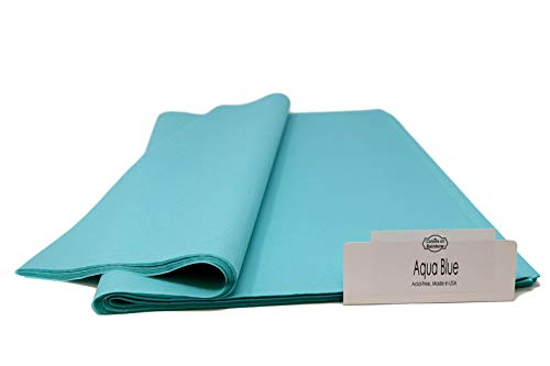 Aqua Gift - Aqua Blue - 96 Sheets - Gift Wrapping Tissue Paper 15