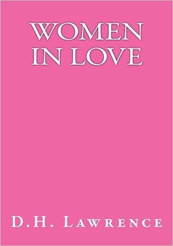 Women in Love: D H  Lawrence: 9781542894890: Amazon com: Books