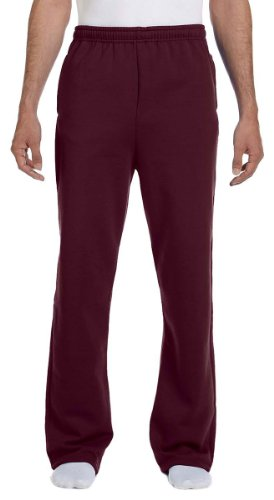 Jerzees Dri-Power Poly Pocketed Open-Bottom Sweatpants, XX-Large - -
