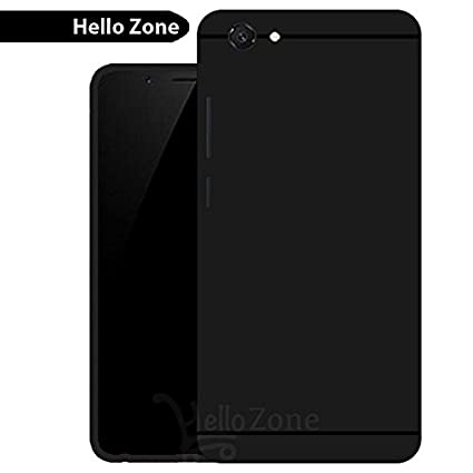 Matte Finish Soft Back Case Cover For Vivo Y71 - Black