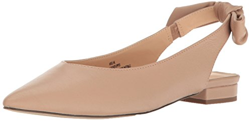 Point Slingback - Nanette Nanette Lepore Women's Ariel-Nl Pointed Toe Flat, Dustpk, 7 M US