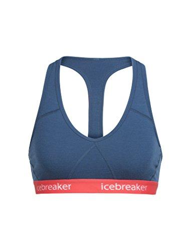 Ice Sprite Bra Racerback Red Breaker Donna Prussian poppy Biancheria Blue Intima 5tqrqw1