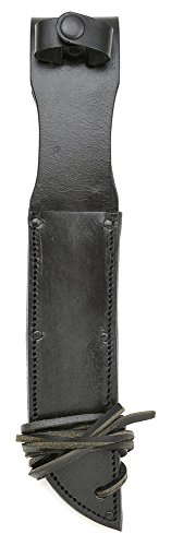 Vietnam Style Black Leather Sheath for US Navy Mark 2 MK 2 or Ka-Bar Knife