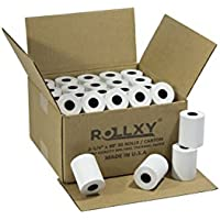 2 1/4 x 85 Thermal Paper Rolls, 50 Rolls/Case For HYPERCOM OPTIMUM-T4205 T4210 T4220 T4230