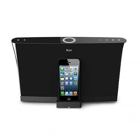 iLuv Aud 5 Apple Lightning Speaker Dock for iPhone 6S Plus, iPhone 6S, iPhone 6 Plus, iPhone 6, iPhone 5S [Apple MFi - Iphone Dock Stereo