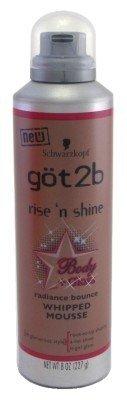 Amazon.com : Got2b Rise N Shine Glistening Full Blow Dry