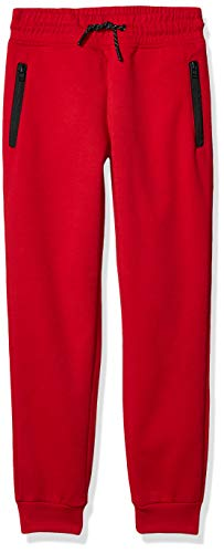 Southpole Boys' Big Tech Fleece Jogger Pants with Zipper Details