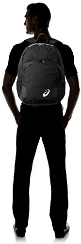 ASICS Unisex Adult Team Backpack,Black-Black,One Size