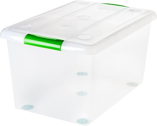 Store and Slide Storage Box, Pack of 6 ()