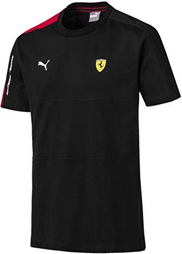 (PUMA Men's Standard Scuderia Ferrari T7 TEE, Black, S)