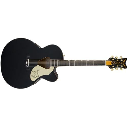 Gretsch Guitars G5022C Rancher Falcon Cutaway Acoustic-Electric Guitar Black Gretsch Cutaway Guitar